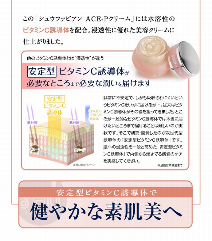 シュウファビアン ACE-Pクリーム 20g